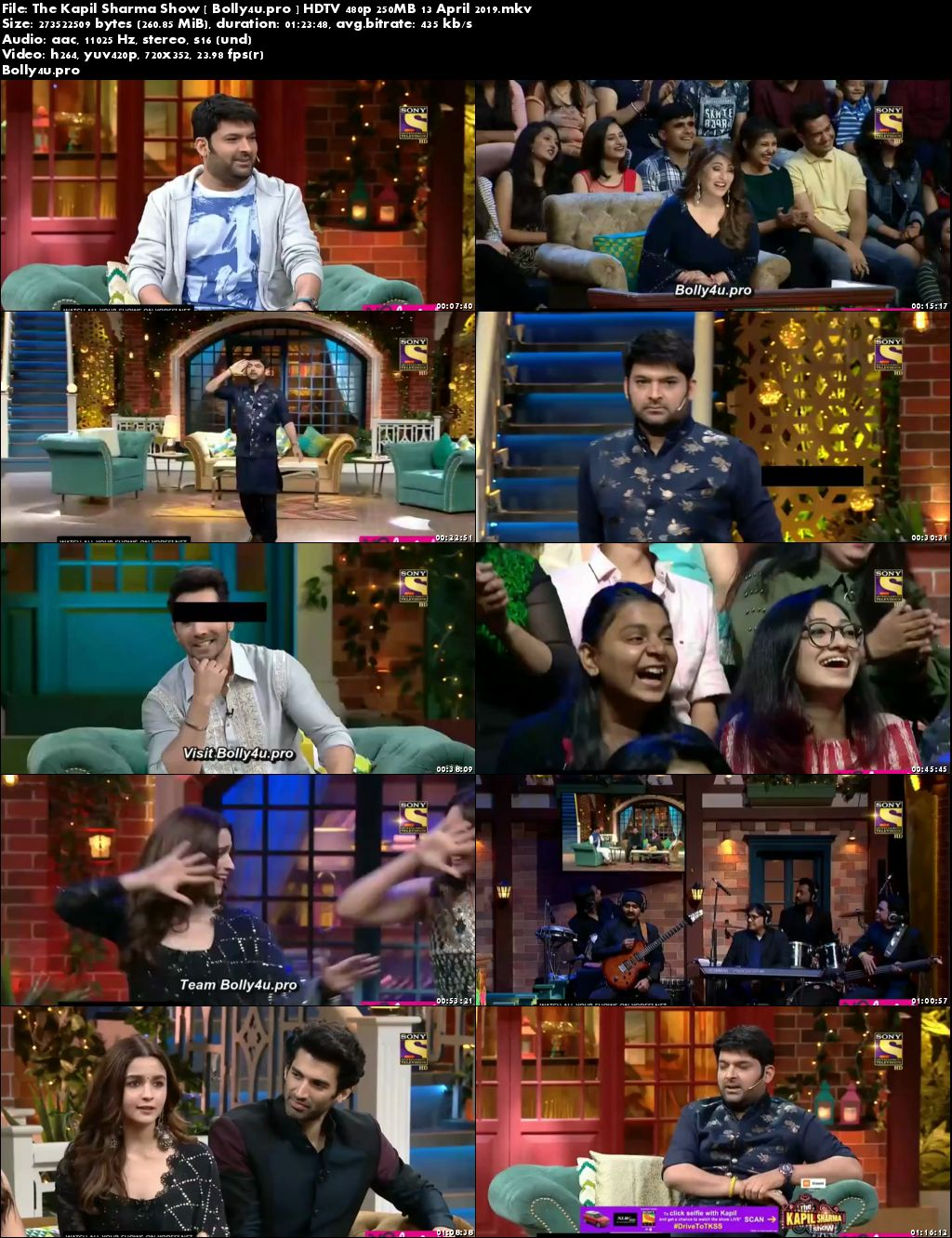 The Kapil Sharma Show HDTV 480p 250MB 13 April 2019 Download