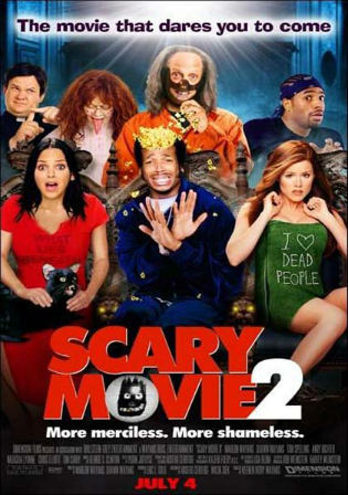 Scary Movie 2 2001 BRRip 300MB UNRATED Hindi Dual Audio 480p Watch Online Full Movie Download bolly4u