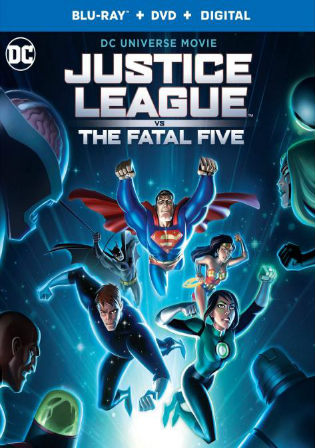 Justice League vs The Fatal Five 2019 BRRip 750MB English 720p ESub Watch Online Full Movie Download bolly4u