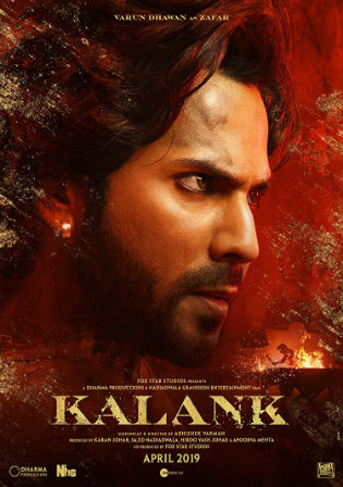 Kalank 2019 Pre DVDRip 450Mb Full Hindi Movie Download 480p
