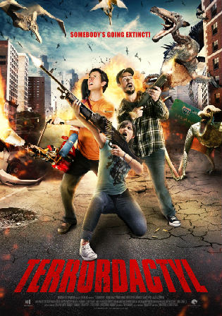 Terrordactyl 2016 WEB-DL 300MB Hindi Dual Audio 480p ESub Watch Online Full Movie Download Bolly4u