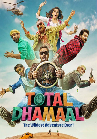 Total Dhamaal 2019 WBERip 1.1GB Hindi 720p Watch Online Full Movie Download bolly4u