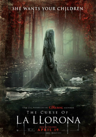 The Curse of La Llorona 2019 HDCAM 300Mb Hindi Dual Audio 480p Watch Online Full Movie Download bolly4u