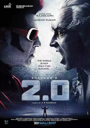 2.0 2018 WEBRip 999MB Hindi ORG 720p ESub