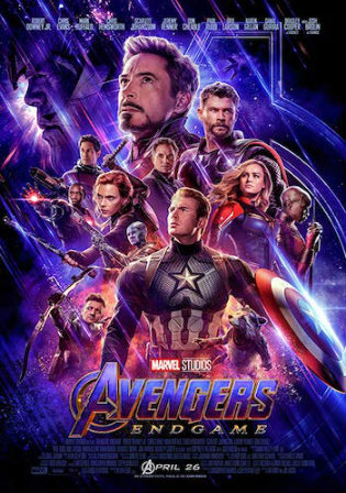 Avengers Endgame 2019 HDCAM 550MB Hindi Dual Audio 480p