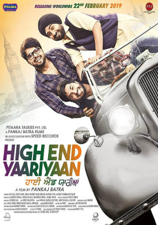 High End Yaariyaan 2019 HDTV 350MB Punjabi 480p