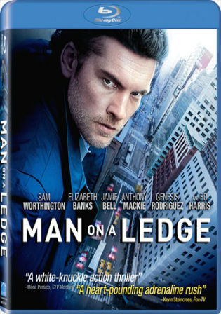 Man on a Ledge 2012 BluRay 350MB Hindi Dual Audio 480p Watch Online Full Movie Download bolly4u