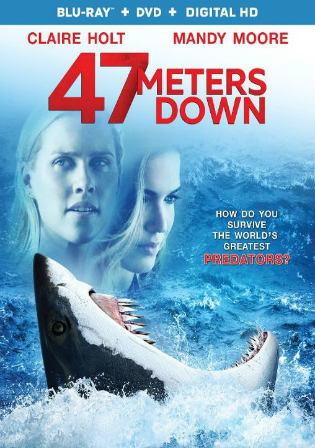 47 Meters Down 2017 BRRip 850Mb Hindi Dual Audio 720p Watch Online Full Movie Download bolly4u