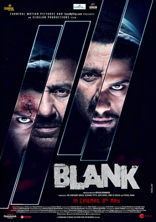 Blank 2019 Pre DVDRip 700Mb Hindi x264 Watch Online Full Movie Download bolly4u