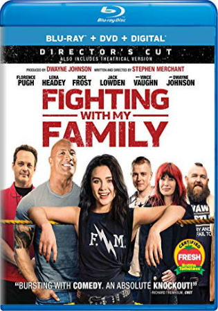 Fighting with My Family 2019 BRRip 300MB English 480p ESub Watch Online Full Movie Download Bolly4u