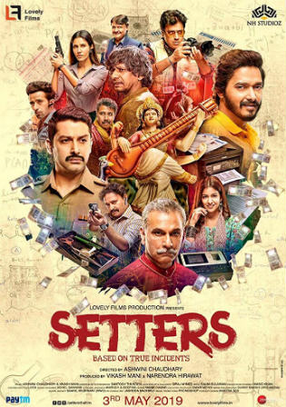 Setters 2019 Pre DVDRip 350MB Hindi 480p Watch online Full Movie Download bolly4u