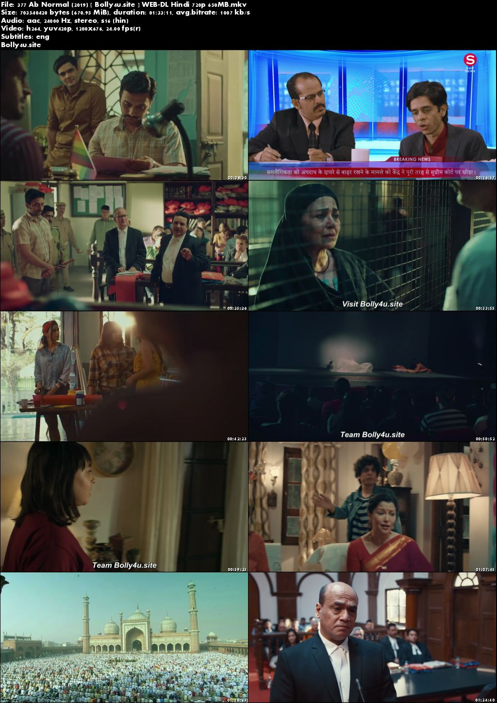 377 Ab Normal 2019 WEB-DL 300MB Hindi 480p ESub Download