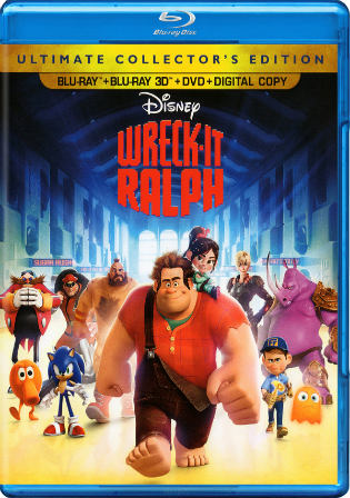 Wreck-It Ralph 2012 BRRip Hindi Dual Audio 720p ESub Watch Online Full Movie Download bolly4u