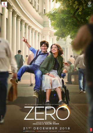 Zero 2018 DVDRip 1.1Gb Hindi 720p ESub Watch Online Full movie download bolly4u