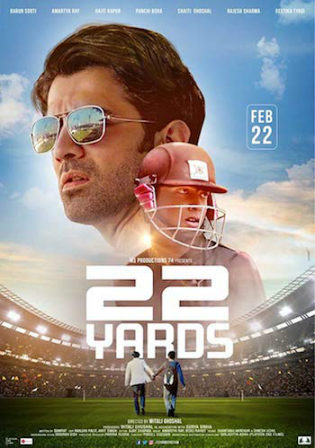 22 Yards 2019 HDTV 850Mb Hindi 720p Watch Online Full Movie Download bolly4u