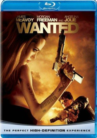 Wanted 2008 BRRip 800MB Hindi Dual Audio 720p ESub Watch Online Full Movie Download bolly4u