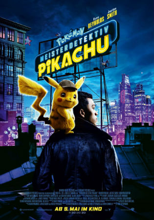 Pokémon Detective Pikachu 2019 HDCAM 300MB Hindi Dual Audio 480p Watch Online Full Movie Download bolly4u
