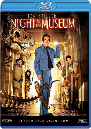 Night At The Museum 2006 BluRay 300MB Hindi Dual Audio 480p Watch Online Full Movie Download bolly4u