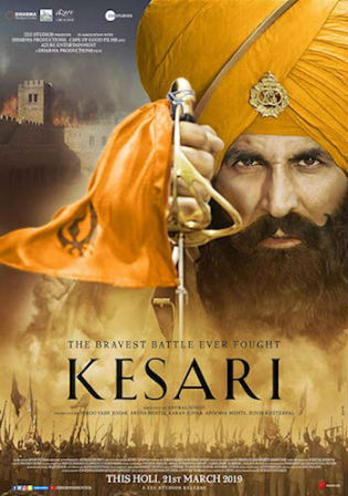 Kesari 2019 HDRip 450MB Full Hindi Movie Download 480p Watch Online Free bolly4u