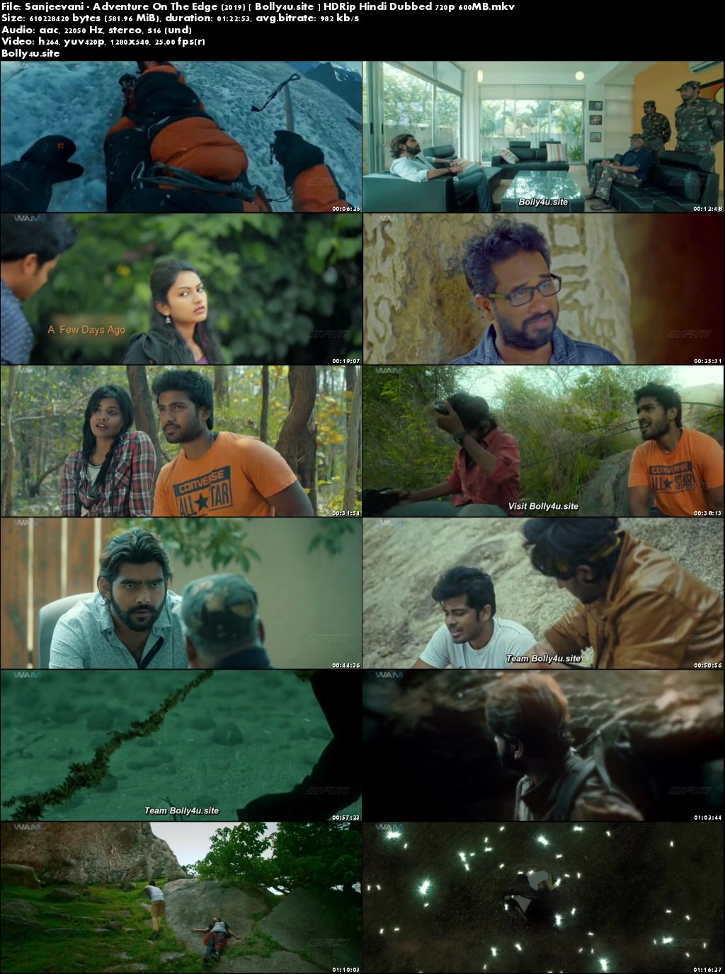 Sanjeevani Adventure On The Edge 2019 HDRip 250MB Hindi Dubbed 480p Download