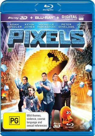 Pixels 2015 BluRay 350MB UNCUT Hindi Dual Audio ORG 480p Watch Online Full Movie Download bolly4u