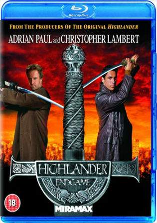 Highlander Endgame 2000 BRRip 800Mb Hindi Dual Audio 720p Watch Online Free Download bolly4u
