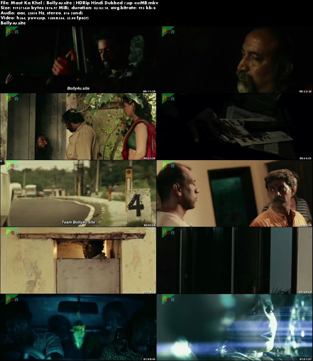 Maut Ka Khel 2019 HDRip 350MB Hindi Dubbed 480p Download