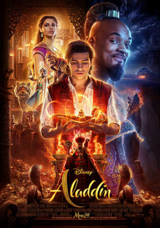 Aladdin 2019 HDCAM 350MB English 480p