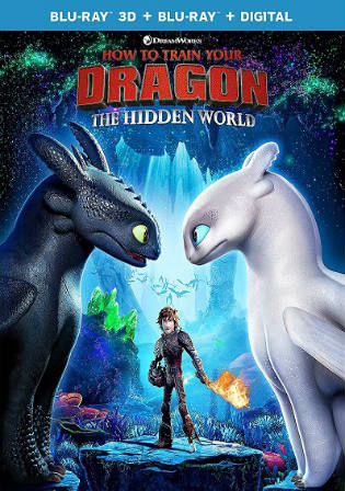 How to Train Your Dragon The Hidden World 2019 BRRip 350MB Hindi Dual Audio ORG 480p Watch Online Full Movie Download bolly4u