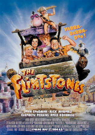 The Flintstones 1994 BRRip 300MB Hindi Dual Audio 480p
