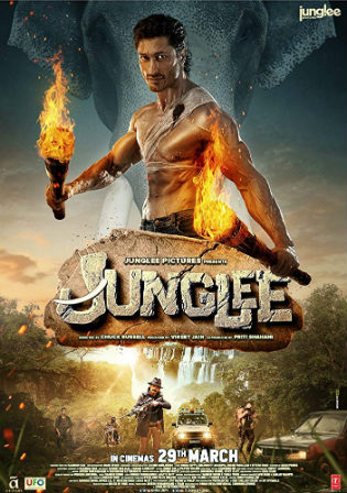 Junglee 2019 HDRip 800MB Hindi 720p x264