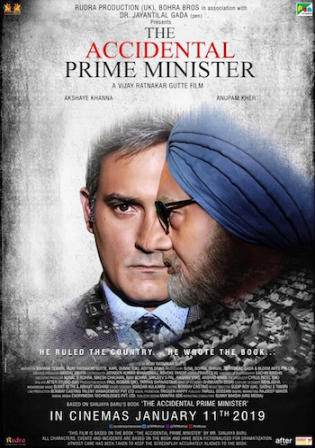 The Accidental Prime Minister 2019 HDRip 750MB Hindi 720p