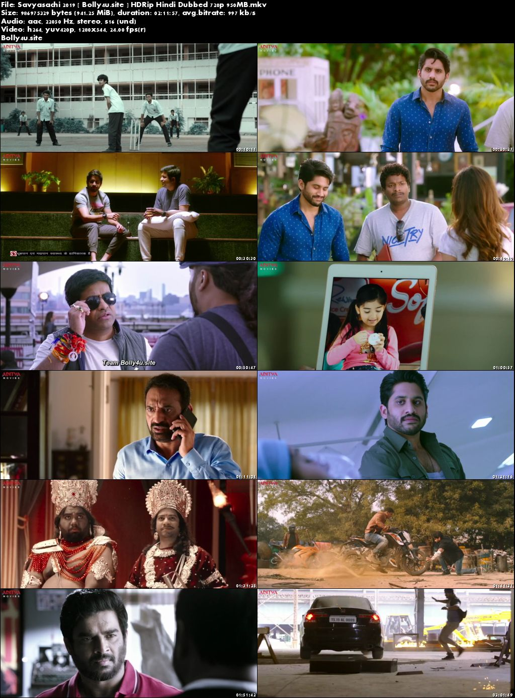 Savyasachi 2019 HDRip 950MB Hindi Dubbed 720p Download