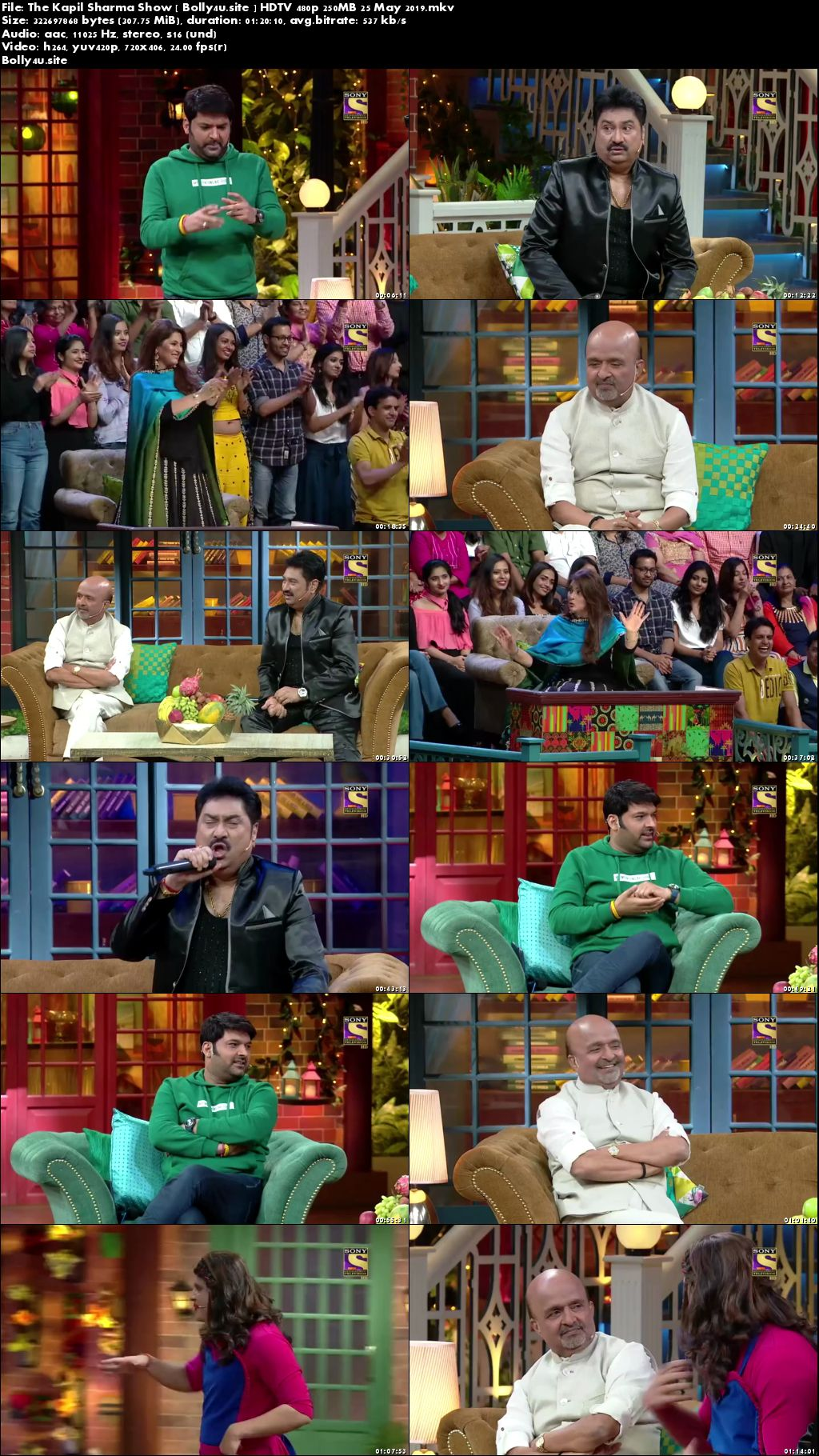 The Kapil Sharma Show HDTV 480p 250MB 25 May 2019 Download