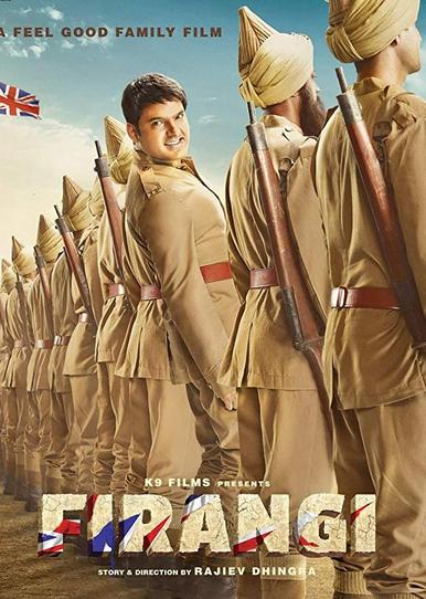 Firangi 2017 Full Movie Hindi 400MB HDTV 480p