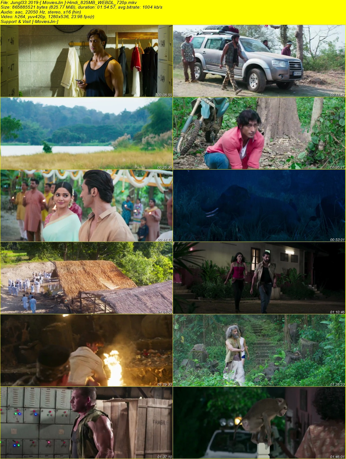 Watch Online Junglee 2019 300MB Movie WEBDL Hindi 480p Full Movie Download 8xfilms, 9xmovies, hdhub4u