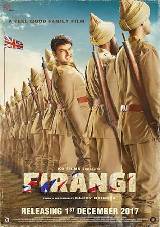 Firangi 2017 HDTV 450MB Hindi 480p
