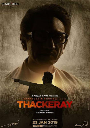 Thackeray 2019 BluRay 400MB Full Hindi Movie Download 480p ESub