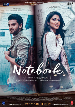Notebook 2019 HDRip 350MB Hindi 480p ESub