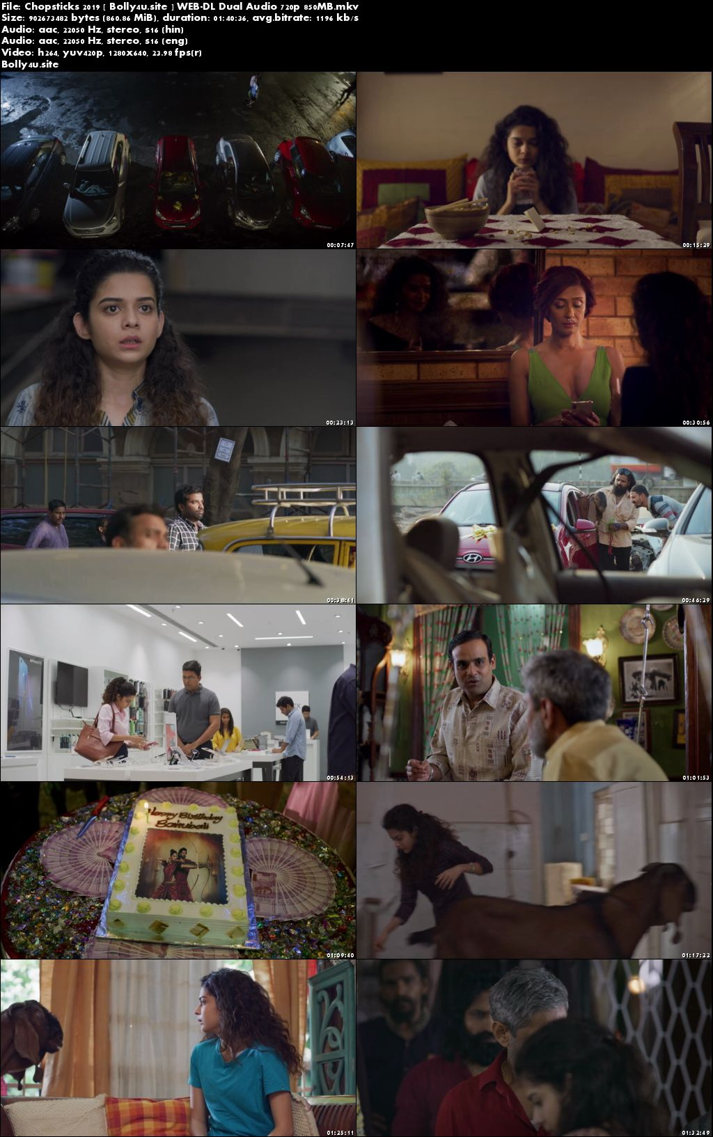 Chopsticks 2019 WEB-DL 300MB Hindi Dual Audio ORG 480p Download