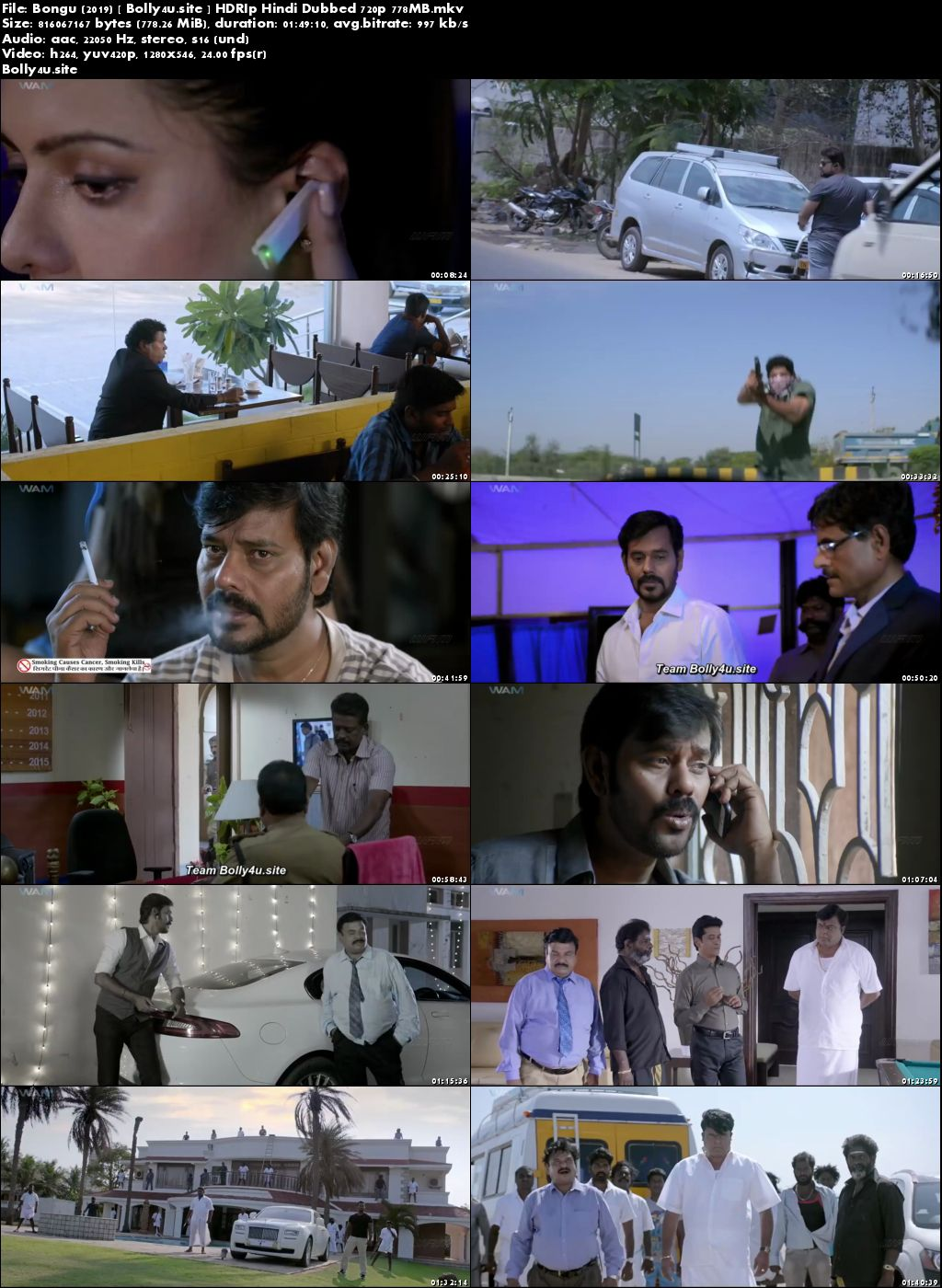 Bongu 2019 HDRip 750Mb Hindi Dubbed 720p Download