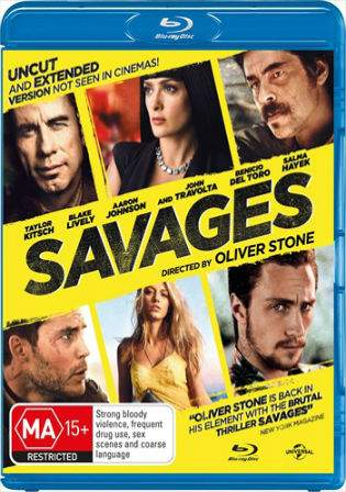 Savages 2012 BRRip 1GB UNRATED Hindi Dual Audio 720p Watch Online Full Movie Download bolly4u