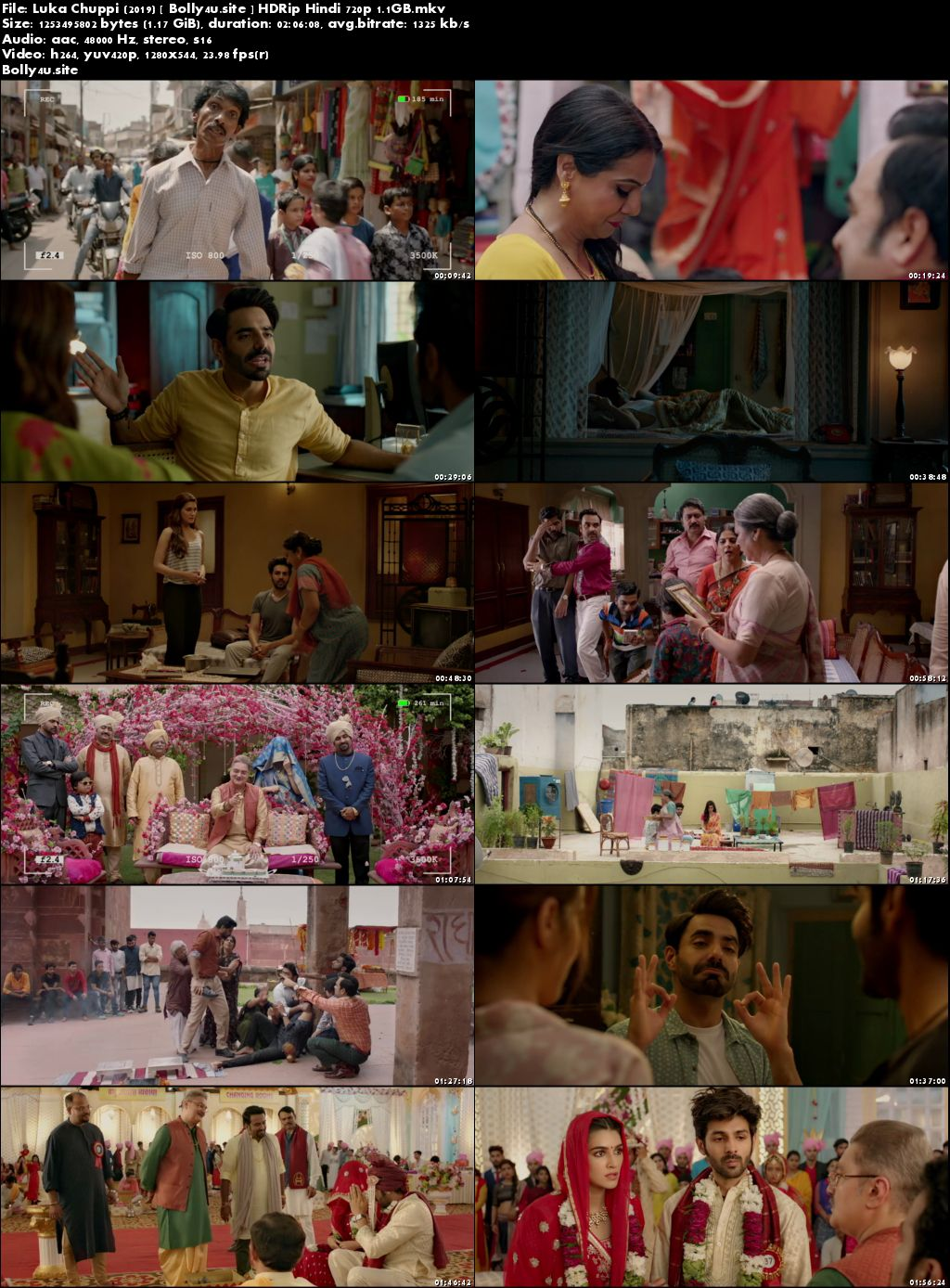 Luka Chuppi 2019 HDRip 1.1GB Hindi 720p x264 Download