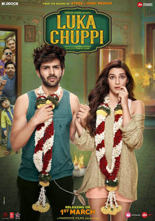 Luka Chuppi 2019 HDRip 350MB Hindi 480p