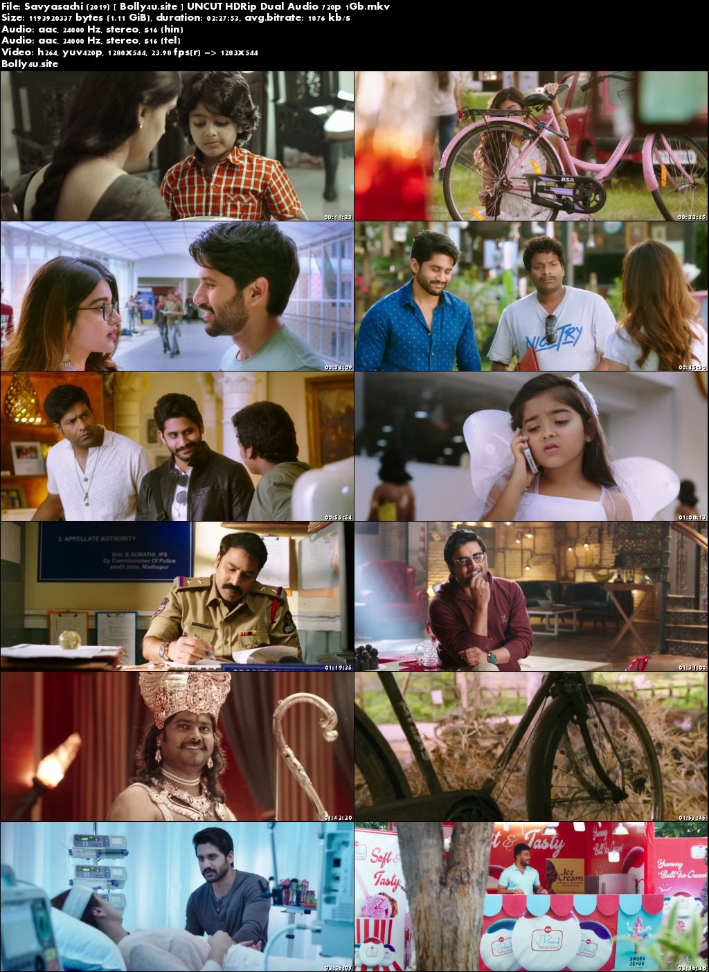 Savyasachi 2019 HDRip 1GB UNCUT Hindi Dual Audio 720p Download
