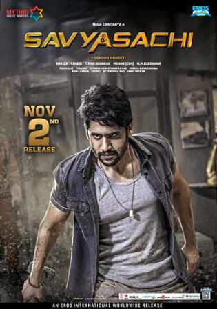 Savyasachi 2019 HDRip 1GB UNCUT Hindi Dual Audio 720p Watch Online Full Movie Download bolly4u