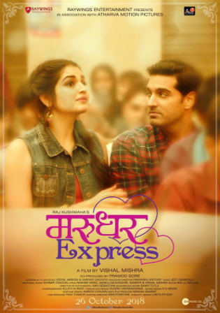 Marudhar Express 2019 HDTV 700MB Hindi 720p