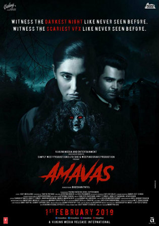 Amavas 2019 WEBRip 300MB Full Hindi Movie Download 480p