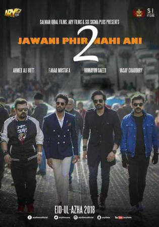Jawani Phir Nahi Ani 2 2018 SDTV 450MB Urdu 480p Watch Online Full Movie Download bolly4u