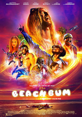 The Beach Bum 2019 WEB-DL 300MB English 480p Watch Online Full Movie Download bolly4u